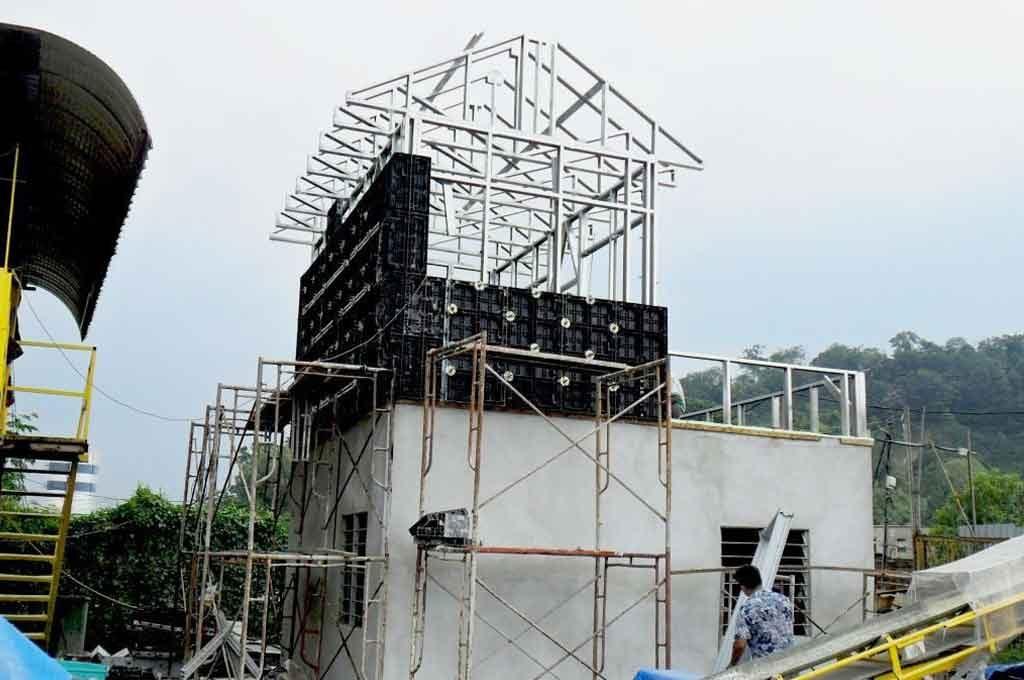BOFU plastic formwork in Malaysia for house