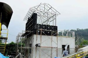 BOFU plastic formwork in Malaysia for house