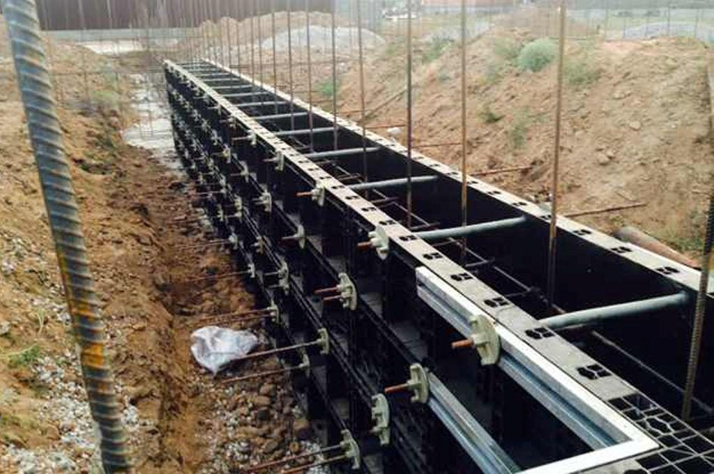 BOFU plastic formwork in kazakhstan for wall