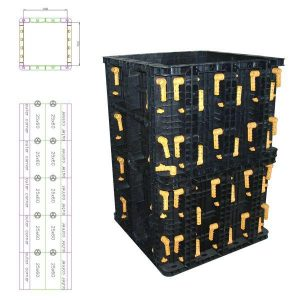BOFU formwork for big column