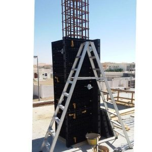 BOFU plastic formwork adjustable column