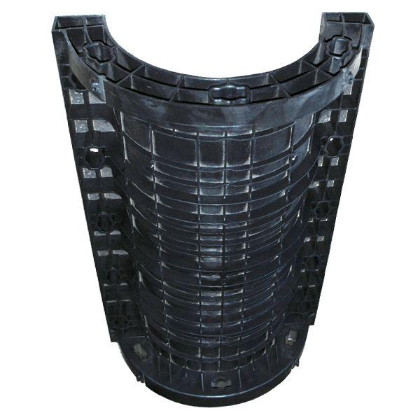 Effectiveness of modular column formwork in the building site for Round columns