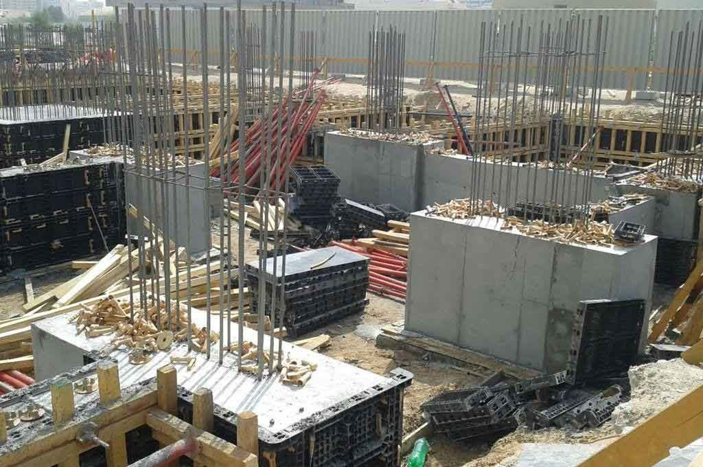 BOFU foundation formwork in U.A.E.
