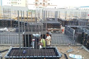 UAE formwork for foundation