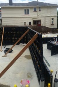 formwork set up 2