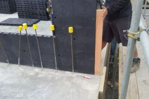 formwork set up