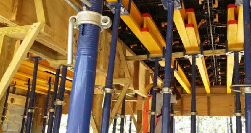concrete forms and concrete formwork for beams and slab