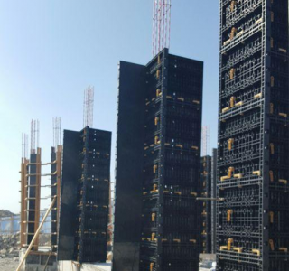 plastic formwork for column