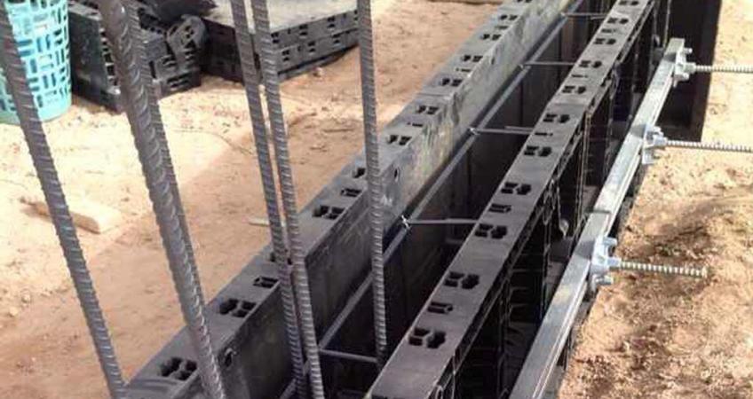 BOFU plastic formwork in Saudi Arabia